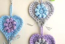 hearts crochet