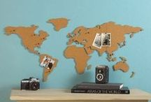 DIY: Map & Geography Inspired