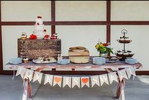 Picnic Themed Fair-y Tale Wedding / A picnic theme is the perfect choice for an outdoor wedding.