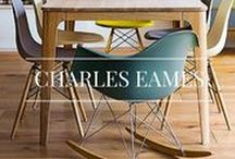 Charles Eames / Eames furniture is a classic name across the world – stemming from the original American designers, Charles and Ray Eames, who worked since 1948 to create timeless and iconic chairs.