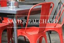 Xavier Pauchard / Xavier Pauchard is a French designer, born in 1880 whose legacy still lives on today. Living in the heart of France you would think the designer would be inspired by natural materials such as wood, however the family were all zinc roofers.  Pauchard discovered through his profession that it was possible to protect sheet metal from rusting by using the molten zinc, galvanising it in this created the perfect material to create furniture from.