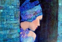 Beautiful Blue / Throat chakra opening hues