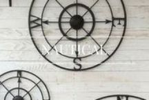 Nautical Decor / Sail away into an oasis of calm with our take on New Nautical home decorating.