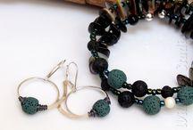Lava Stone Jewelry by WillOaks Studio