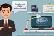 WebDesign, Weboldal készítés, Website Templates / Weboldal készítés, technológia, újdonságok, trend.