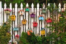 Birds of a Feather / Birdhouses / by K