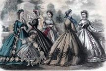 Godey's Fashions and the Victorian Era / Fashions of the Victorian and Regency Eras