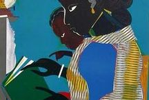 ROMARE BEARDEN'S / Wonderful collages and paintings by Romare Bearden.