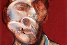 Self's Bacon / Self-portraits of the great (maybe the greatest) british painter of the XX Century.