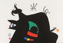 MIRÓ / Great spanish painter and sculptor.