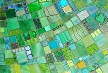 Mosaics / Inspirations for mosaic artworks