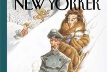 NEW YORKER COVER / Covers of the weekly magazine that exists for decades.