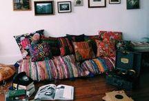 """""""ESPAÇOS BACANAS"""" / pra costurar, tricotar, desenhar, dormir...estar ou apenas olhar."""