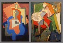 ■ Juan Gris / Juan Gris, de nombre real José Victoriano González-Pérez, pintor español que desarrolló su actividad principalmente en París como uno de los maestros del cubismo. 「1887―1927」