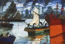 ✔ Benito Quinquela Martín / Pintor Argentino. 「1890―1977」