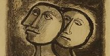 ✔ Raquel Forner / Pintora, escultora y profesora de dibujo de nacionalidad argentina. 「1902―1988」