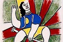 □ Fernand Léger / Pintor cubista francés. 「1881―1955」