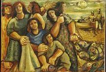 ₪ Emiliano Di Cavalcanti / Pintor e ilustrador brasileño. 「1897―1976」
