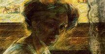 ⓞ Umberto Boccioni / Pintor y escultor italiano, teórico y principal exponente del movimiento futurista. 「1882―1916」