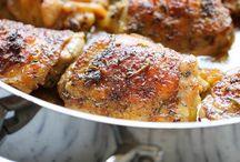 chicken / Sauced