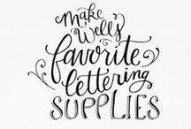 Art {supplies} / by Heather Koshiol