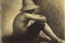□ Georges Pierre Seurat / Pintor francés fundador del Neoimpresionismo. 「1859―1891」