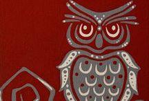 IlusʈяaçioⓃes | Búhos / ( arte e ꀤ꒒ꀎꌗ꓄ꋪꍏꉓꀤꂦꈤꍟꌗ asociadas a las figura del búho y la lechuza )