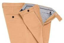 Moleskin Trousers / Moleskin is a heavy cotton fabric, woven and then sheared to create a short, soft pile on one side. In feel and appearance its nap is similar to felt or chamois, but less plush than velour. Clothing made from moleskin is noted for its softness and durability. For every men in colder months there's a need for warm and cosy clothing and there's a way to have that without loosing sharp stylish and elegant look