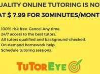 Online Tutoring / Quality Online Tutoring is NOW PRICE-LESS. Get homework help or connect with Online Tutors now, for as low as $7.99 for 30 Minutes - www.TutorEye.com