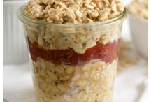 Overnight Oats + Make Ahead Breakfast Recipes / Find the best overnight oats recipes and make ahead breakfasts here from your favorite food bloggers! Happy Pinning! Thanks!