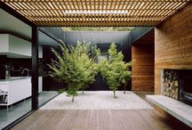 Outdoor rooms / Creating a connection with the outdoors