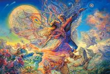 Josephine Wall Paintings / by Tay Evans