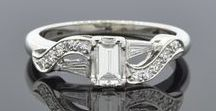 Unique Engagement Rings / Joden Jewelers has a large collection of unique engagement rings. From vintage and antique rings to modern engagement designs we cover time periods from the 1800's to today.