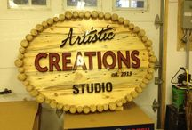 Artistic Creations Studio / Personal sign project for my friend Brian Morrision