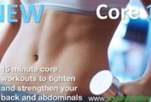Workouts / Get in shape in less than 20 minutes a day with online video workouts you can do anytime and anywhere...