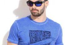 Blue like Summer / blue, clothes, jeans, summer, polo shirt, μπλε, ρούχα, τζιν, πόλο μπλούζα