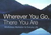 Mindfulness, Meditation etc books