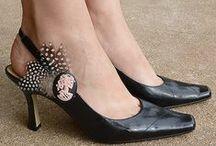 декорирование обуви,ее переделка / декорирование обуви и ее переделка своими руками  / by Валентина Теслева