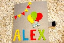 My quiet book / This a handmade, customized & personalized  book from felt ideal for toddlers ages 1+.