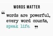 Speak Life - Uplifting People Everywhere / RIXVI Creates products that speak life. #RIXVI #WEARTHEWORD #SPEAKLIFE #WORDSMATTER www.facebook.com/R1Sixteen www.r1sixteen.com