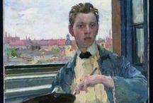 Czech painters portraits / Czech painters selfportraits and  portraits autoportéty a portréty českých malířů
