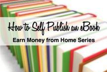 Self Publishing / Websites you can go to and self publish your written content so others can purchase it and enjoy it too.  Great places to publish 40 page reports or eBooks.