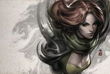 Dota 2 | Windranger | Cosplay inspiration / A lot of Windrunner art and photo. Mood