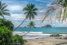 "Manuel Antonio National Park, Costa Rica / Come visit us in paradise: Manuel Antonio offers adventure, romance, one of the ""world's most beautiful national parks"" (according to Forbes—and our visitors) and a laid-back vibe found only in Costa Rica... / by Parador Resort & Spa, Costa Rica"