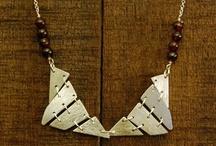 silver handmade necklase