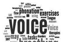 Voice Health and Disorders / Our clinic proudly provides voice therapy. Call (301)405-4218 for more information.