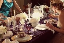 Table settings/Mise en place