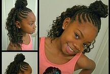 Little Girls' Hair / Hair style ideas for young girls