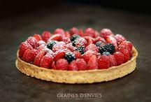 ENVIE DE PÂTISSERIES / Les Gourmandises...