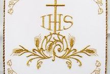 Liturgical embroidery / by GRACIELA GALVAN